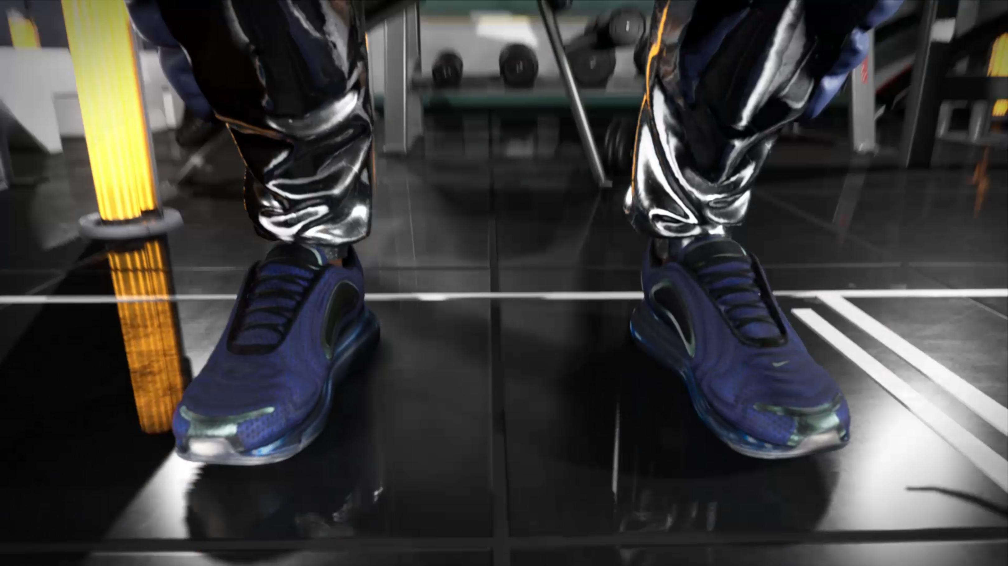 Nike x Dazed Beauty advertising animation, 3D scanning by Form Capture for artist Rick Farin. 3D scanning shoes. 2 of 3