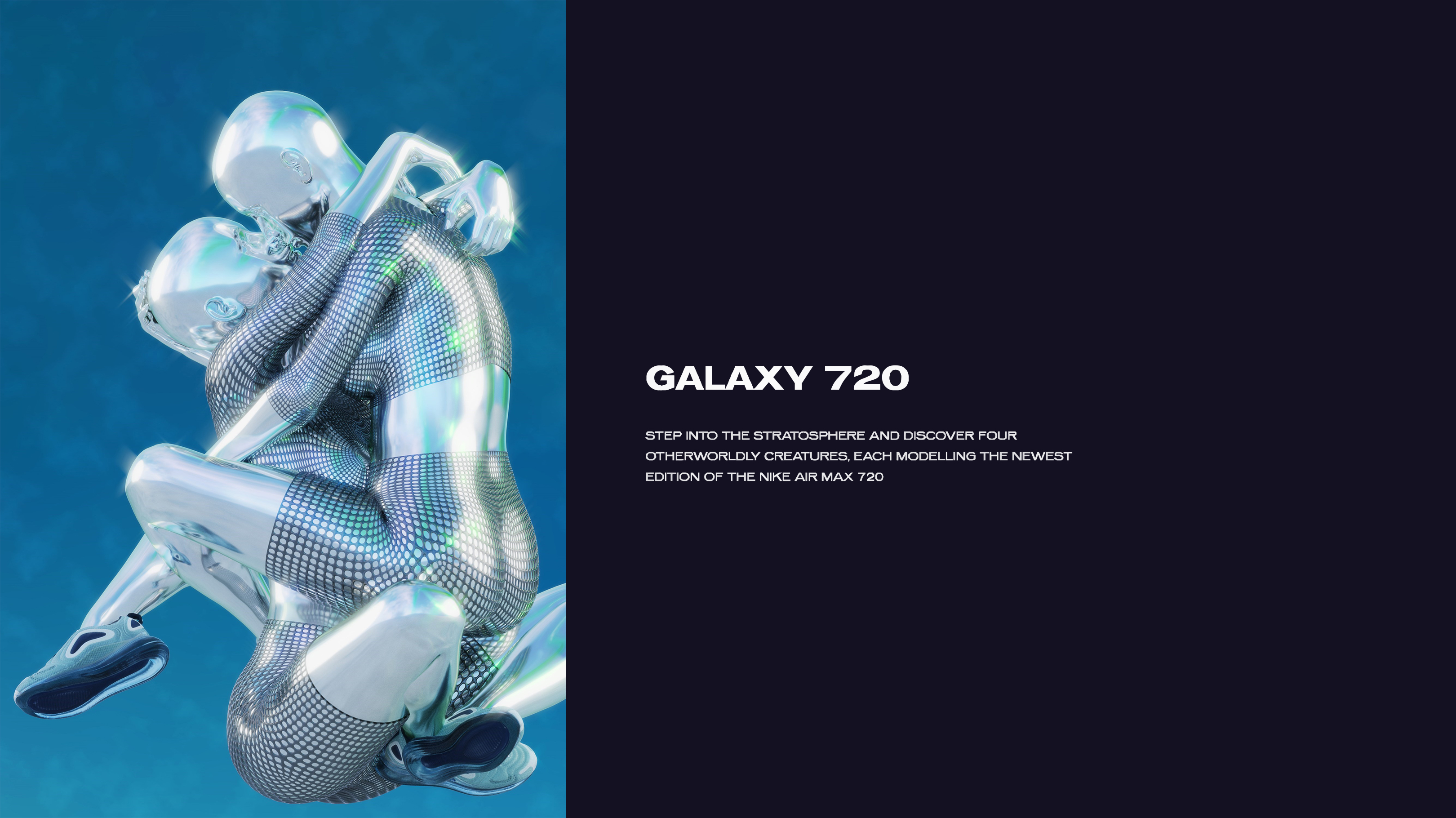 3d Scanning for animation nike x dazed beauty galaxy 720