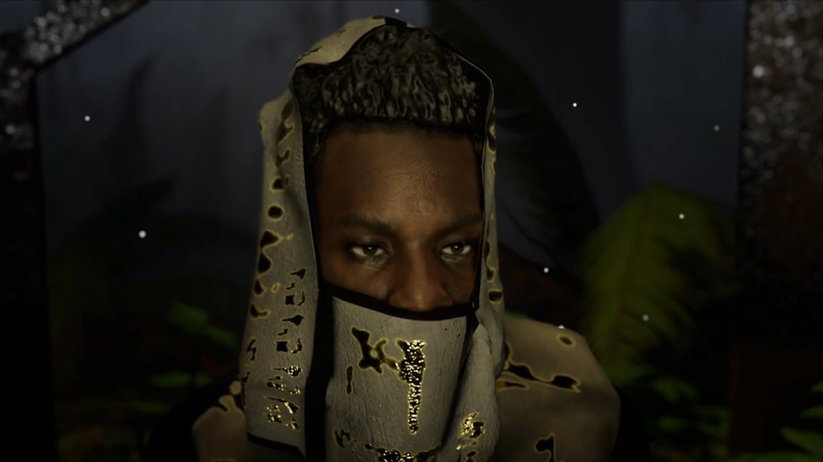 Gaika 3D scanned by Form Capture for artist Rick Farin. 3D scanning for Virtual Reality. 3 of 3.