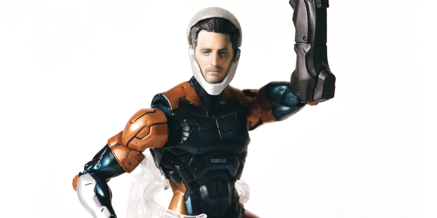 Custom 3D Printed Metal Gear Solid 'Grey Fox' Action Figure